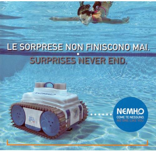 NEMH2O CLASSIC Robot piscine fino a 12 ml